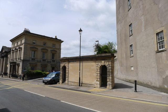 Public conveniences, Charlotte Street, Bath