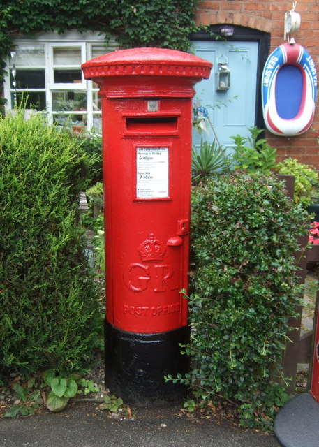 George V postbox on Greenhill, Blackwell
