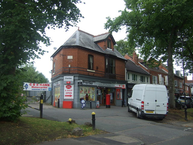 The Green Post Office, King's Norton