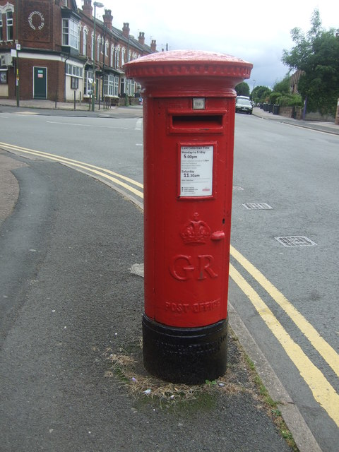 George V postbox on Mary Vale Road, Bournville