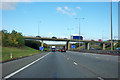 TL1493 : A1(M) junction 17 by Robin Webster