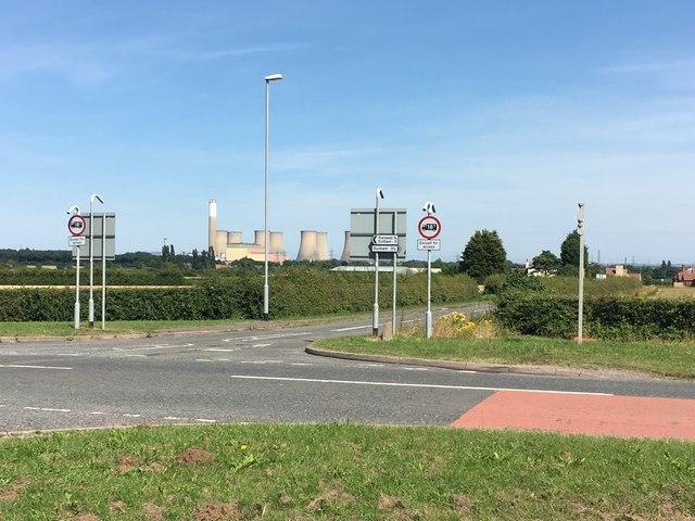 Junction of Laneham Road and Retford Road