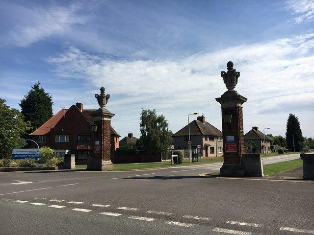 Gateway to Rampton Hospital