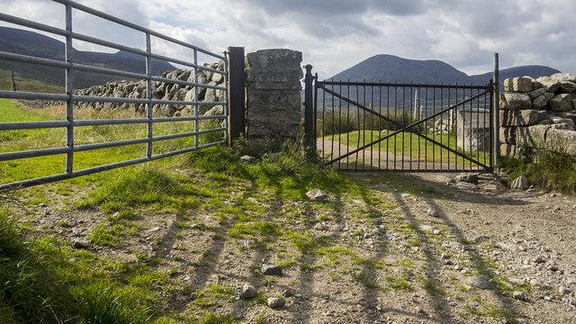 Gates near Slieve Binnian