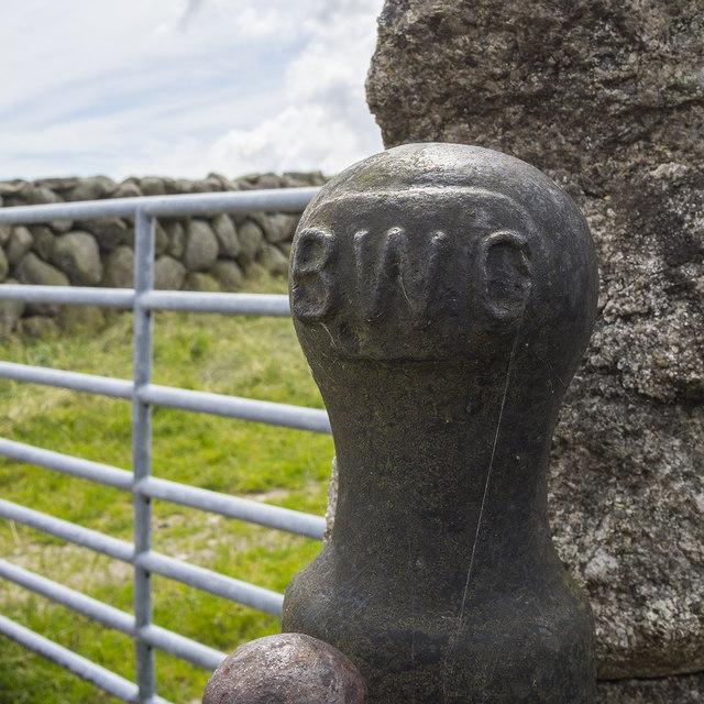 BWC gate near Slieve Binnian