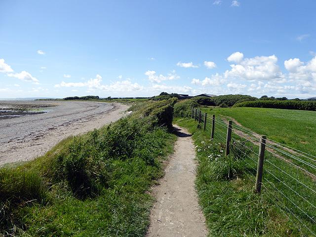 On the Wales Coast Path near Criccieth