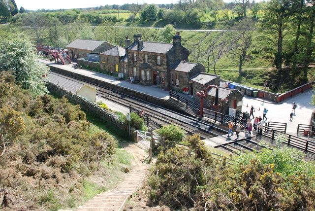 Goathland Station North Yorkshire