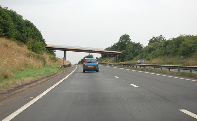 A361 north west of Sampford Peverell