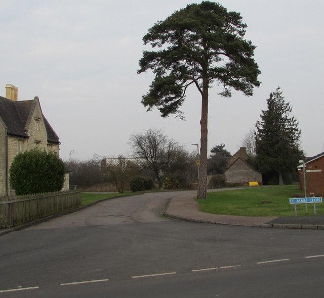 St James Close, Quedgeley
