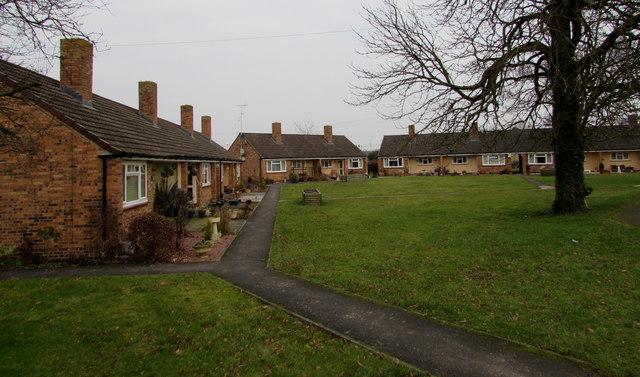St James Close bungalows, Quedgeley
