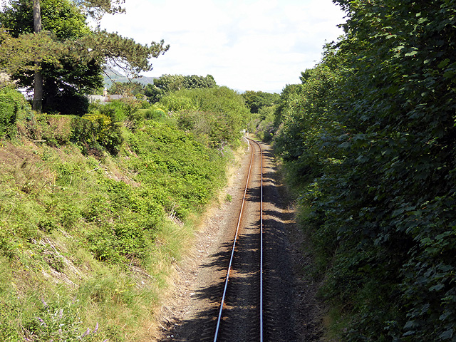 The Cambrian Coast line west of Criccieth