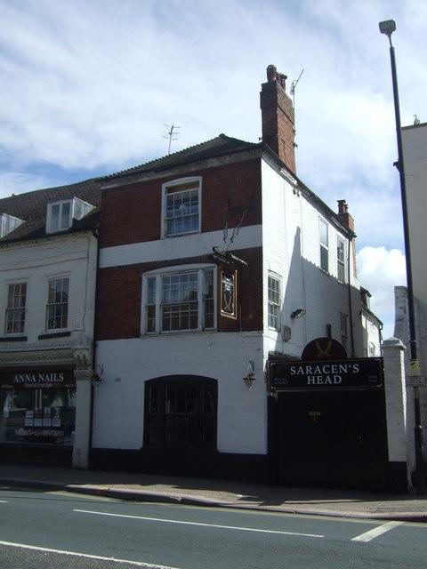 The Saracen's Head, Worcester