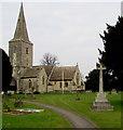 SO8014 : Quedgeley War Memorial by Jaggery