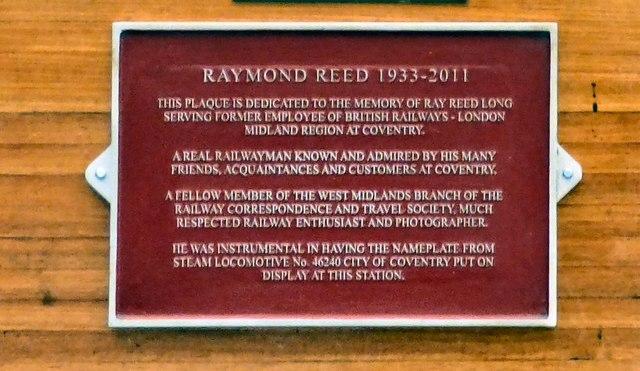 Raymond Reed 1933-2011