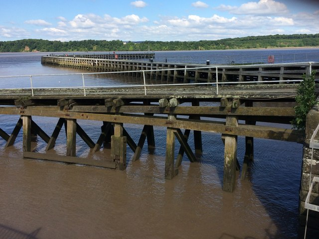 Piers at Sharpness