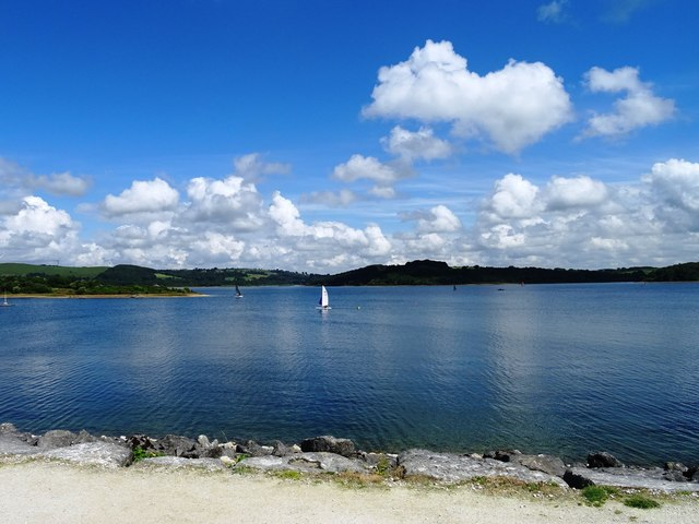 Water sports on Carsington Water