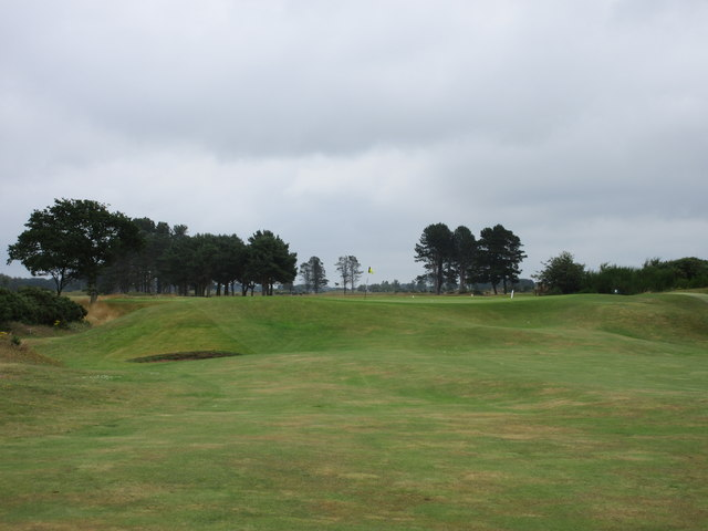 Monifieth Ashludie 1st hole, Tom Morris