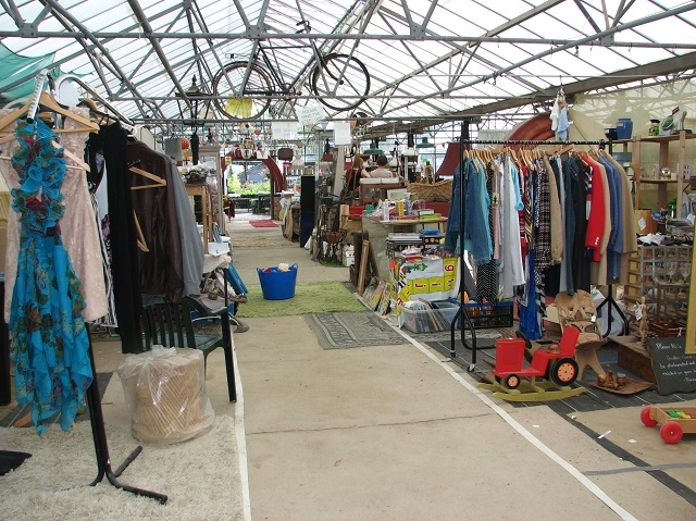 Myhills Plant Nursery - the flea market