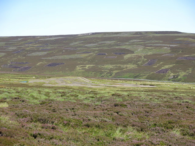 The southeastern slopes of Carrs Hill