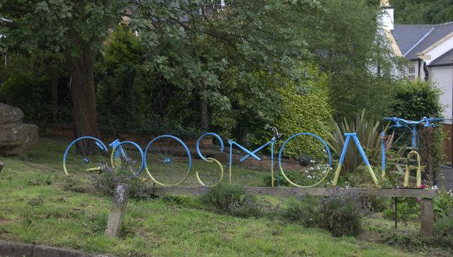 Grosmont village sign