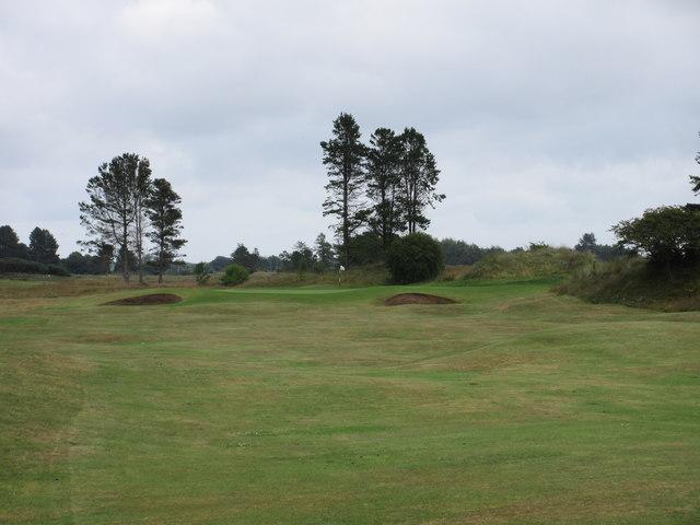 Monifieth Ashludie 8th hole, Eastward Ho