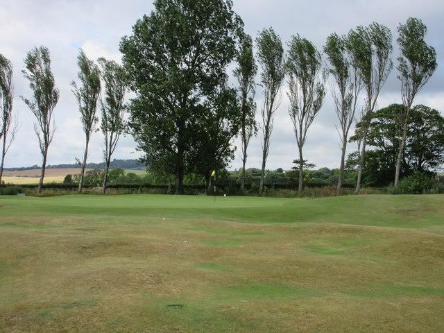Monifieth Ashludie 11th hole, Barry Road