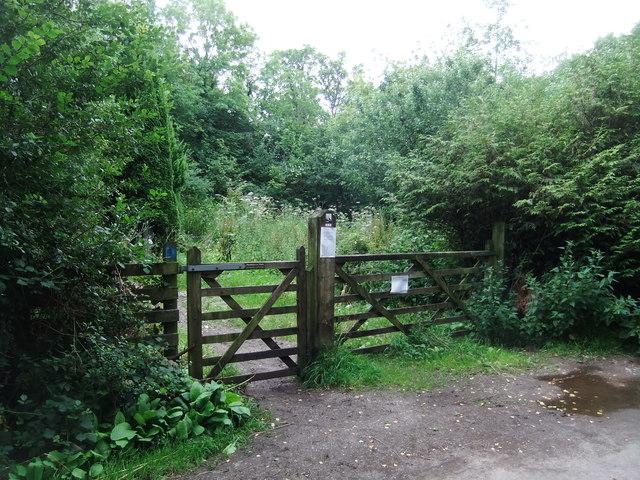 Entrance to Trowbarrow LNR