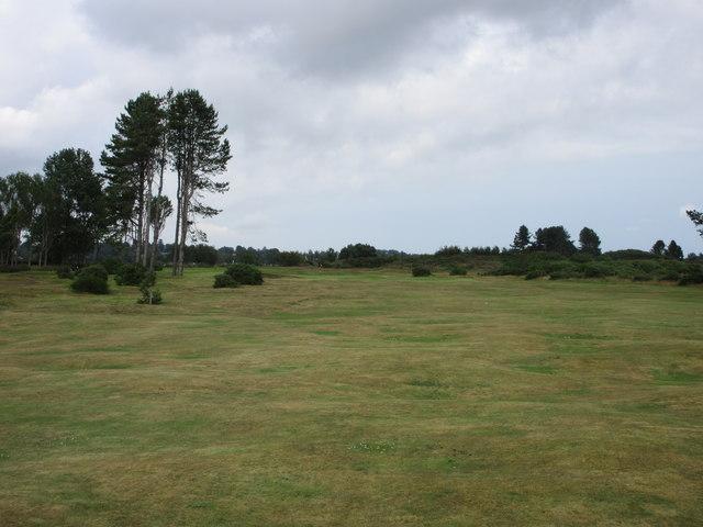 Monifieth Ashludie 15th hole, The Nursery