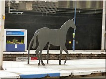 SP0686 : Iron Horse on New Street Station by Gerald England