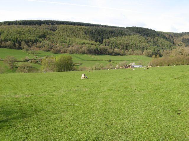 Footpath to Cwm