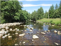 NO2876 : River South Esk at Glendoll by Scott Cormie