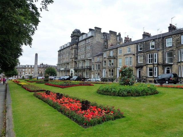Gardens in West Park, Harrogate