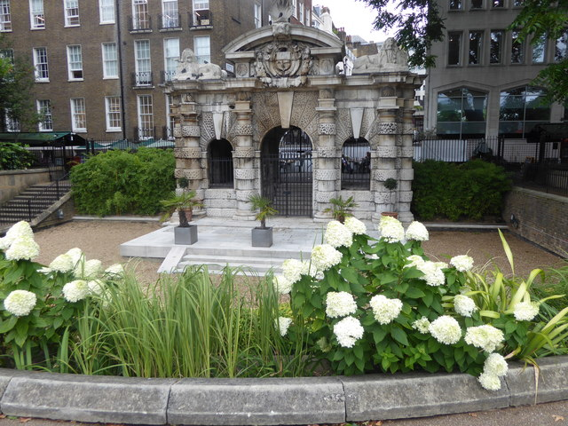 The Watergate in Victoria Embankment Gardens