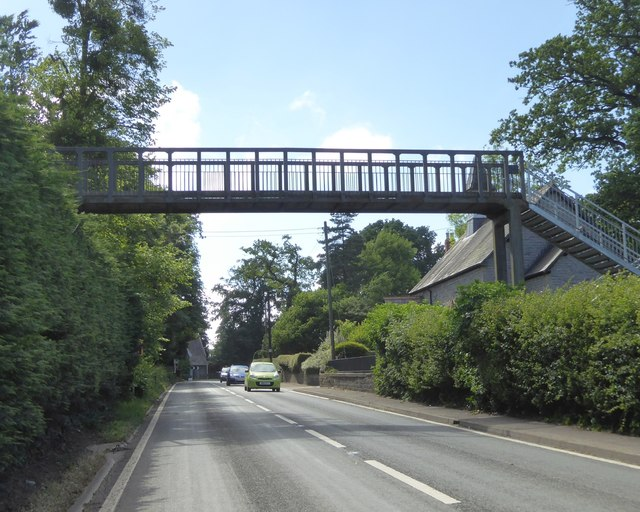 Millfield prep school footbridge