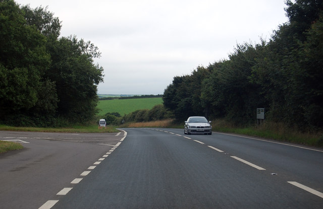 Junction on A39