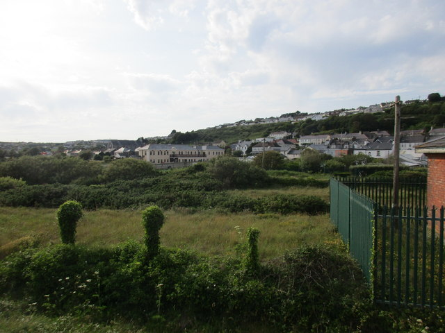 Youghal's western suburbs