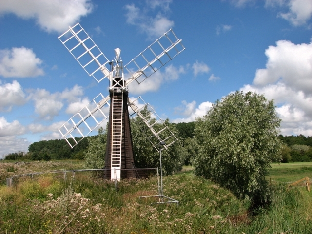 St Olaves drainage mill