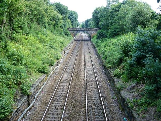 Railway cutting through the Stray, Harrogate