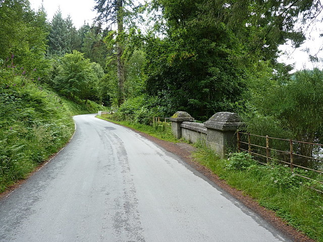 Roadside bridge