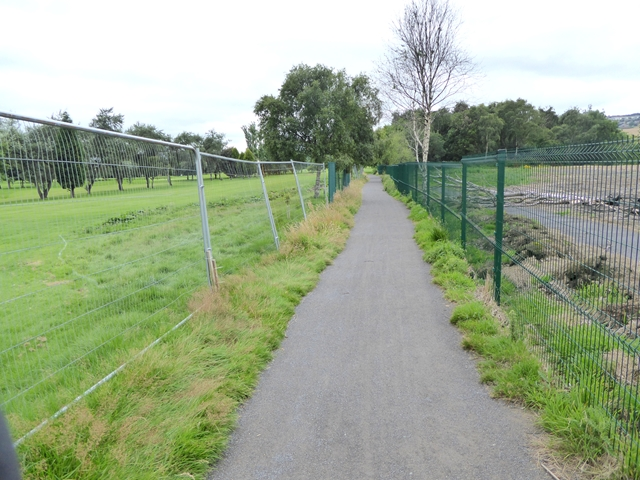 Diverted course of the Keelman's Way