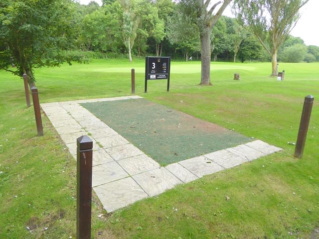 Number 3 tee, Ryton Golf Club