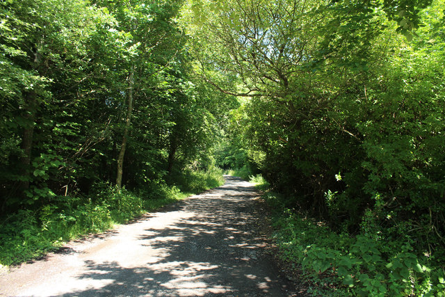Exit Road from John Paul Jones' Cottage