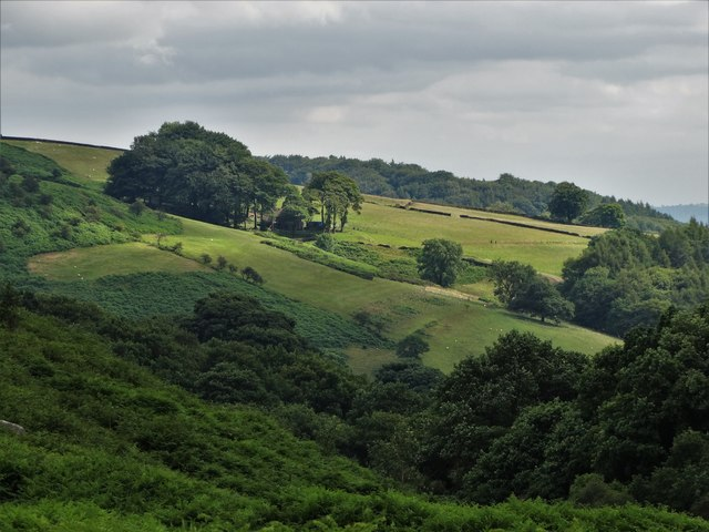 A view of North Lees Estate