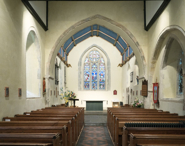 St Peter, East Blatchington - East end