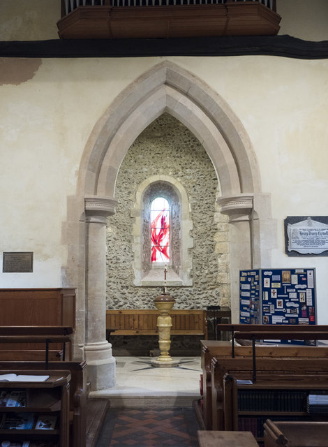 St Peter, East Blatchington - Baptistery
