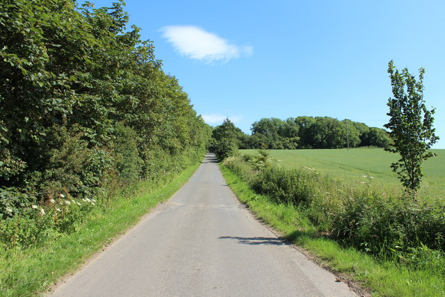 Road to John Paul Jones' Cottage