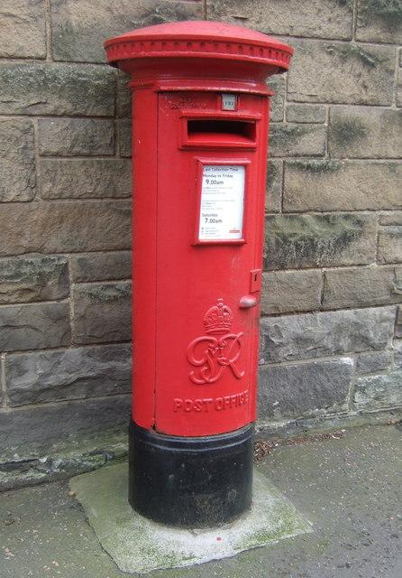 George VI postbox on Grange Loan Edinburgh EH9