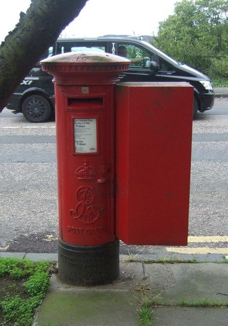 Edward VII postbox on Blackford Avenue, Edinburgh EH9