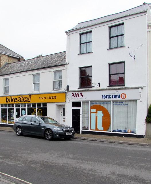 AHA office in Barnstaple