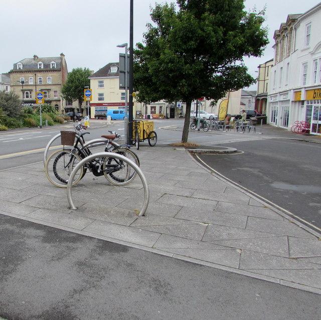 Barnstaple bicycle racks